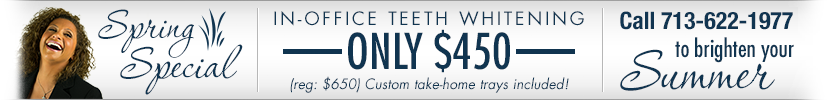 teeth whitening special houston